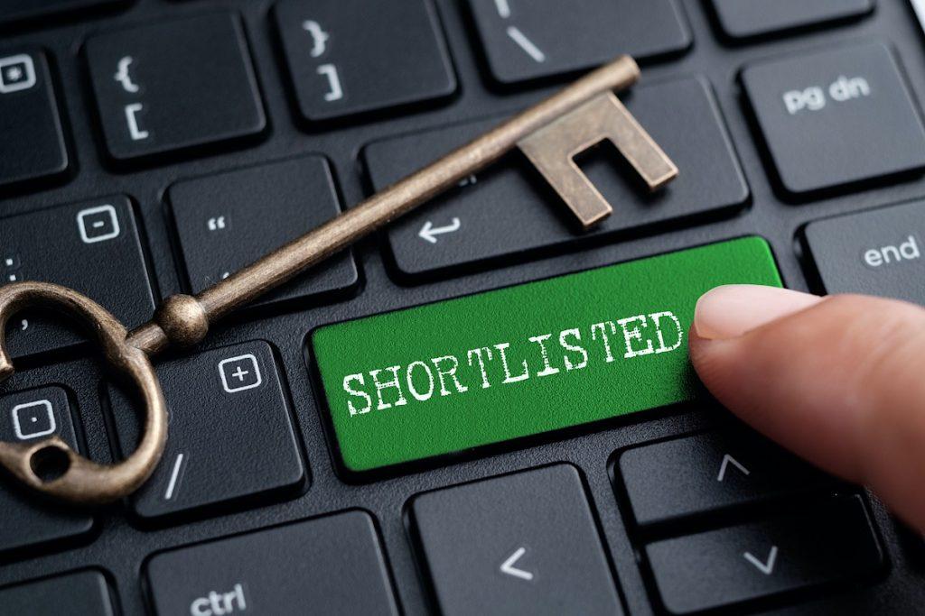 keyboard with green key shortlisted